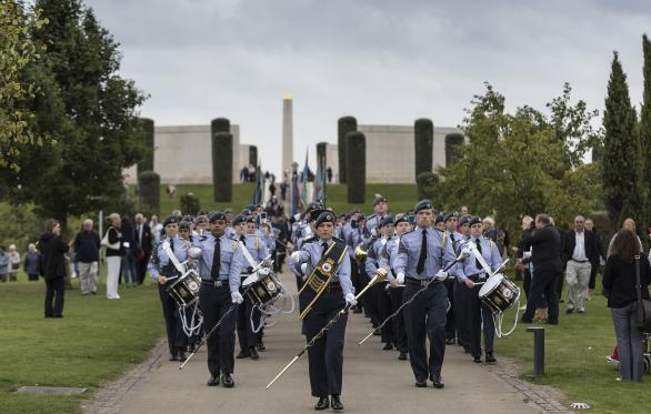 Raf Marching Band News 2