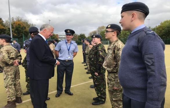 Sir Michael Fallon At Albion Academy