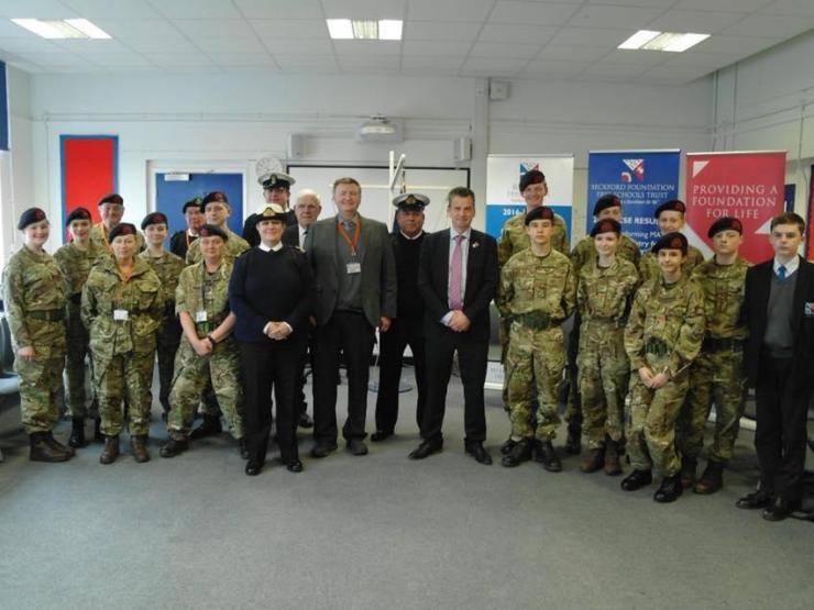 Beccles Free School Royal Marine Cadets