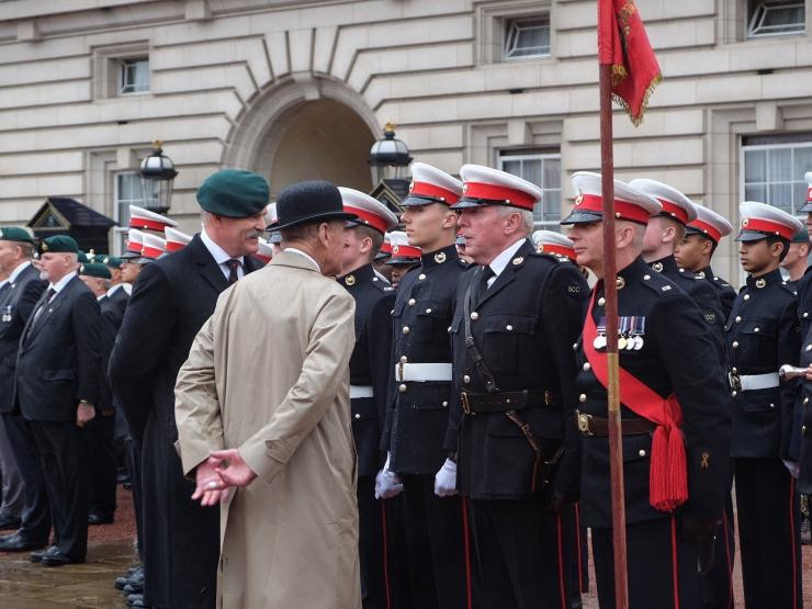 Captain Generals Parade Cadets