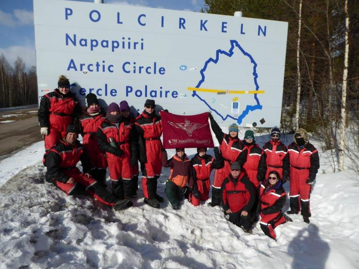 Team At The Arctic Circle