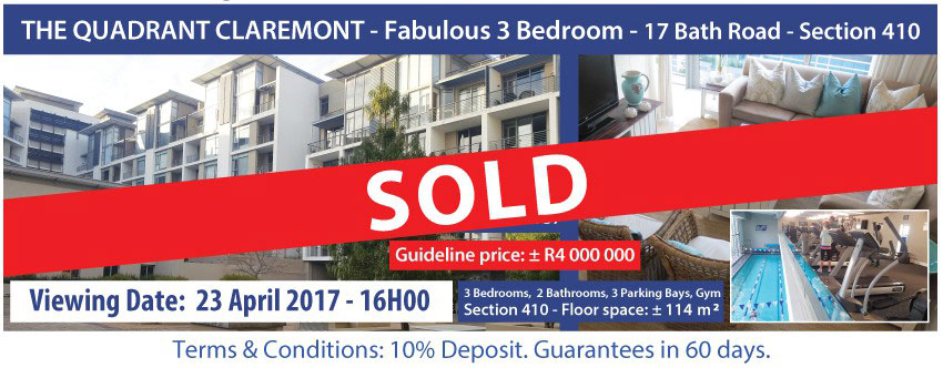 Claremont Sold Property
