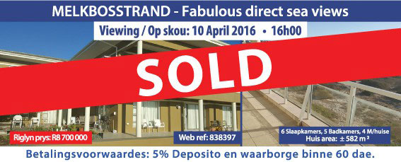 Melkbosstrand properties sold