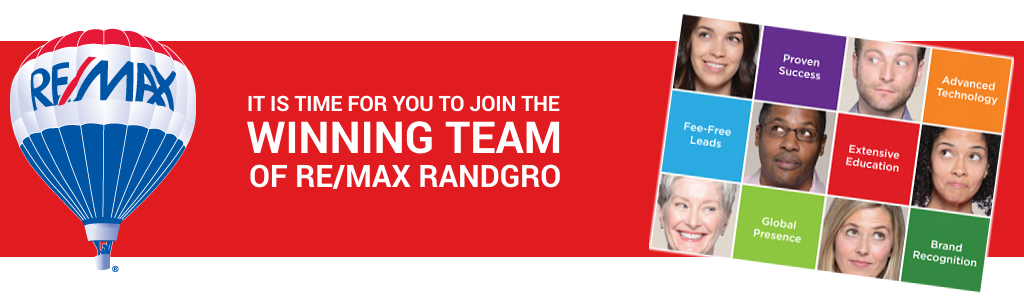 Join the RE/MAX Randgro real estate team