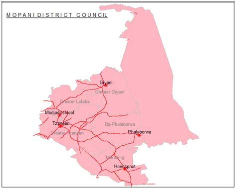 mopani district counsil