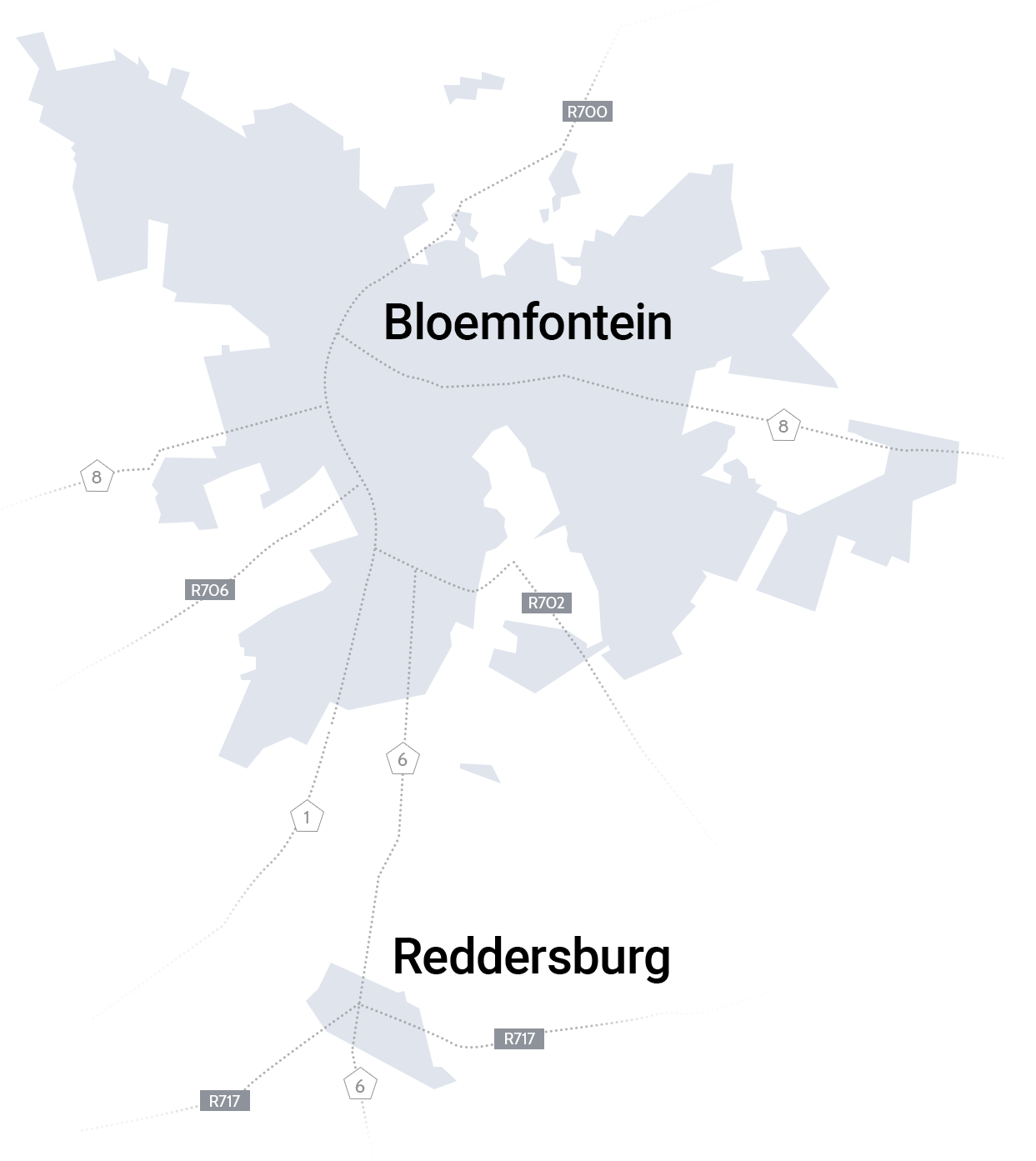Search for property in Bloemfontein