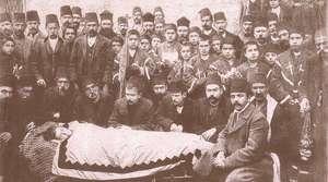 Ermeni cenazesi 1910