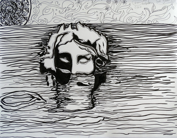 Drawing Drowning