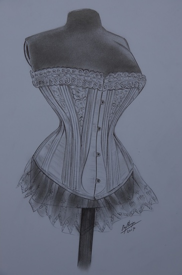 Amazing Antique Corset