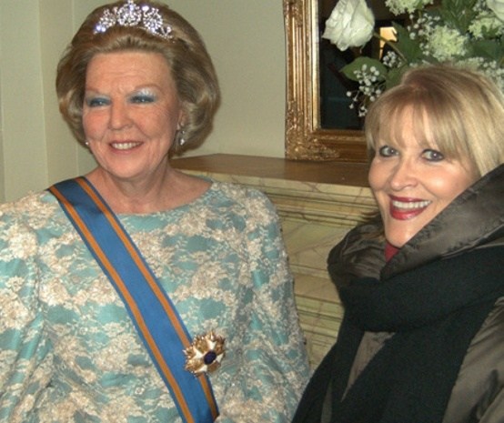 Queen Beatrix and Magdalena