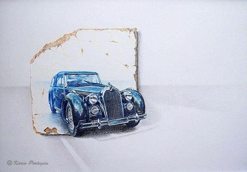 Talbot Lago back on the road