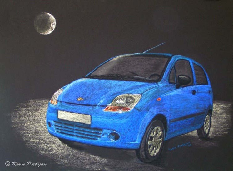 Matiz in moonlight