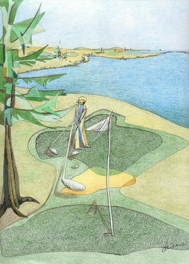 The Golfer (ninth hole)