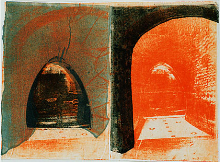 The two Gates ; monotype