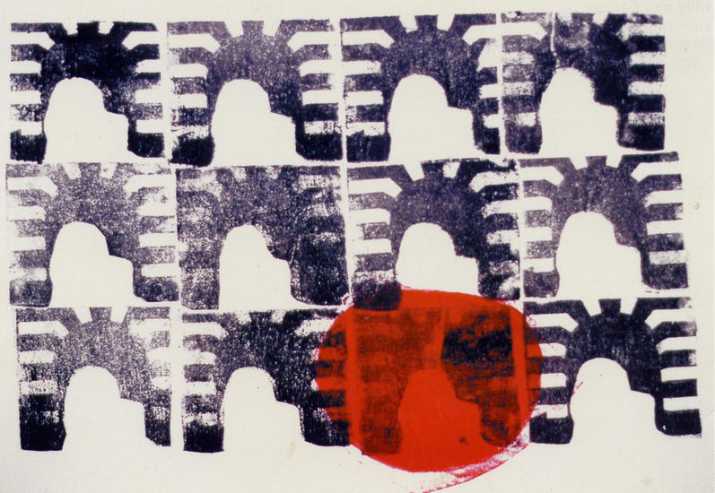 The twelve Gates ; monotype