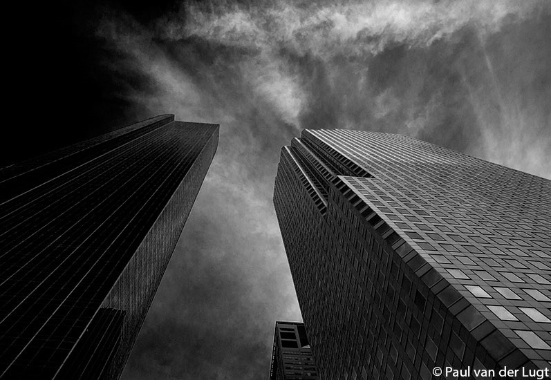 Houston Downtown B/W I