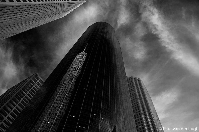 Houston Downtown B/W II