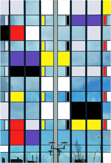 Tribute to Mondriaan