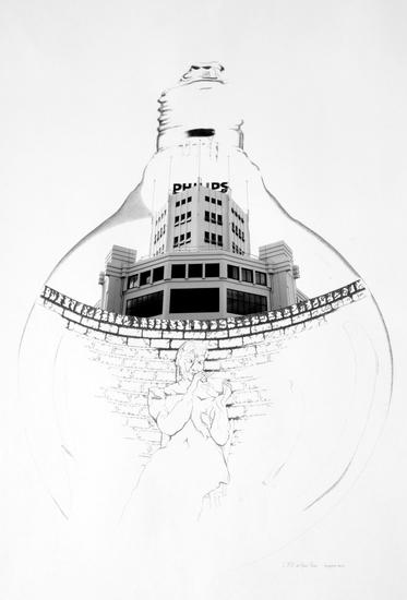 Lichttoren van rina de haas stoop for Stoop eindhoven