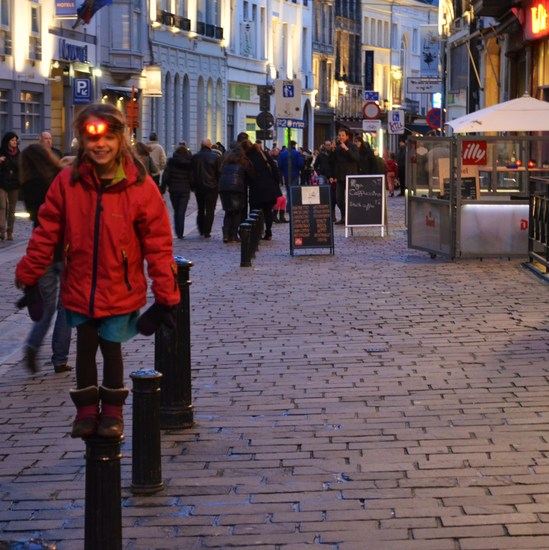 little girl in Ghent