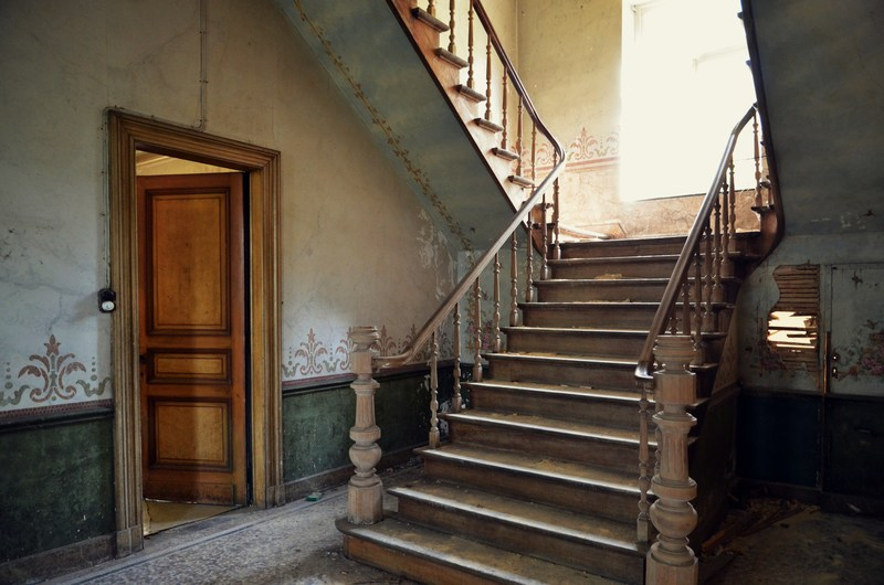 stairway of the château (2)