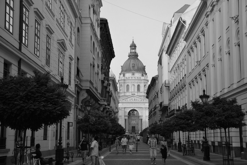 street in Budapest