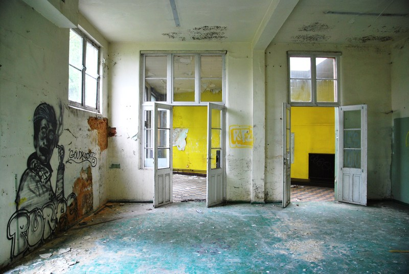 another abandoned school