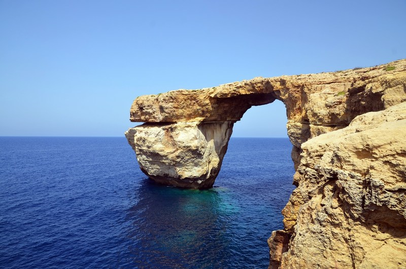 'blue window' - Gozo
