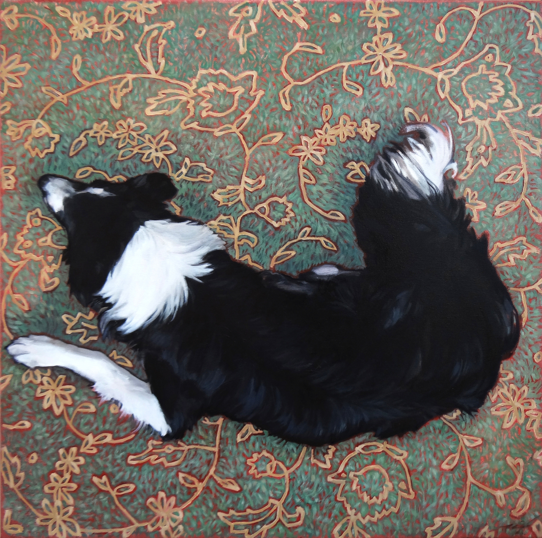 The Dog and His Carpet
