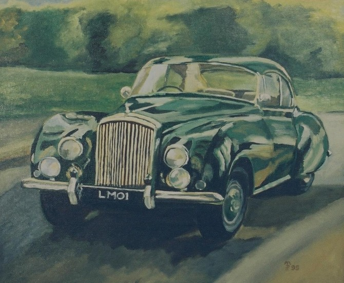 Bentley R type Continental 1954