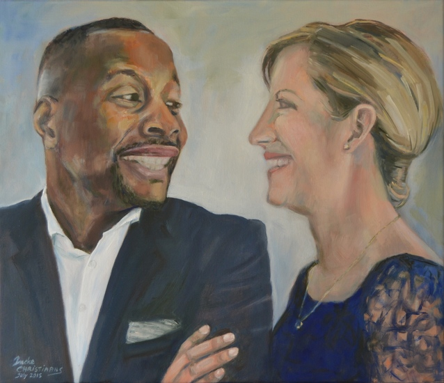 Portret Mr. and Mrs. Richardson (U.S.)