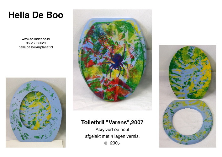 Toiletbril 'Varens'