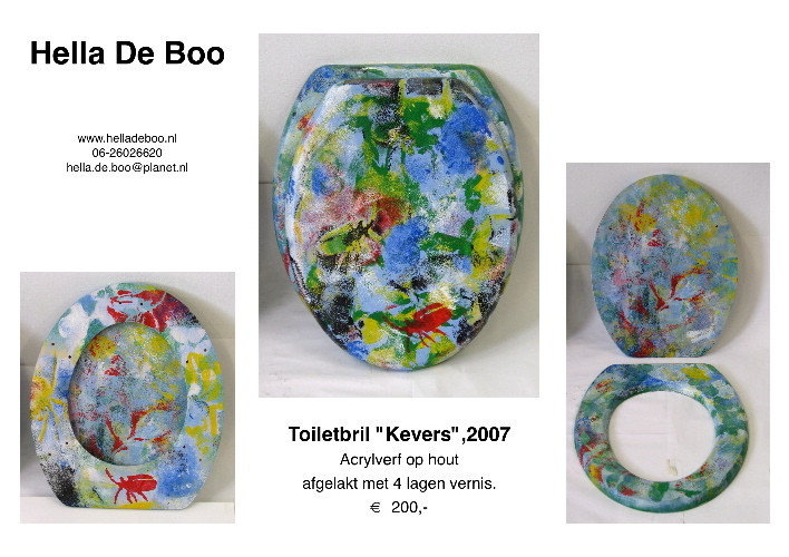 Toiletbril 'Kevers'