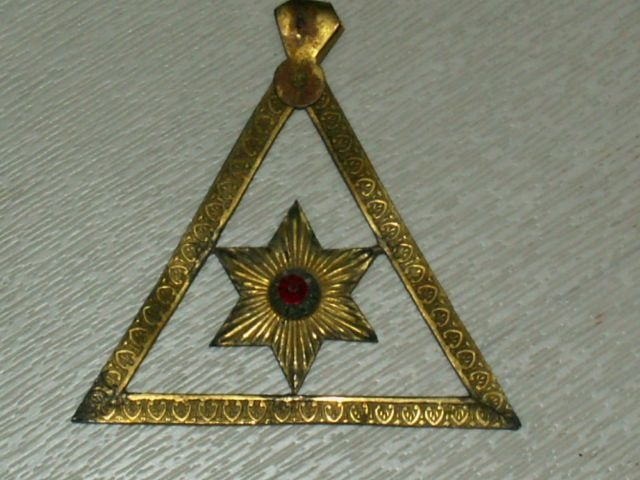 Collar jewel Royal Arch Chapter