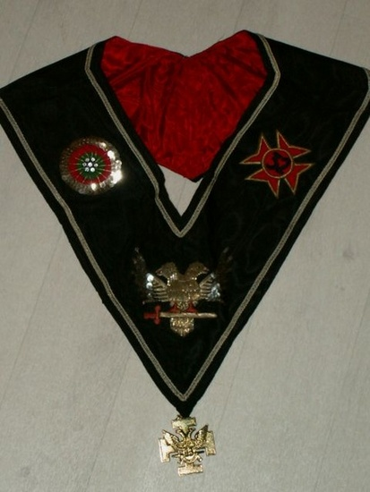 Collar 32th degree AASR