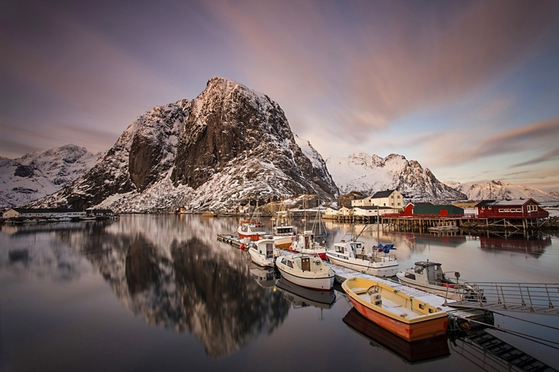 Hamnoy harbour
