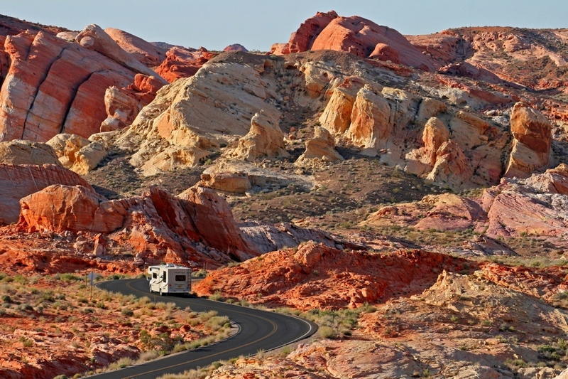 White Domes Road, Valley of Fire S.P.