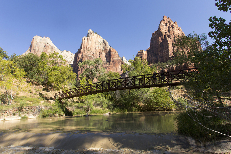 Three Patriarchs, Zion N.P.
