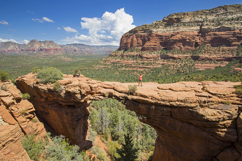 Devil's bridge, Sedona