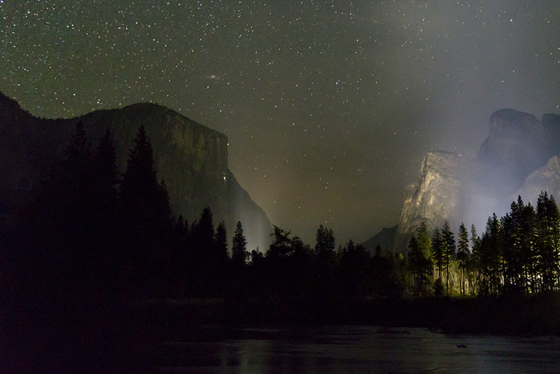 Yosemite N.P. by night