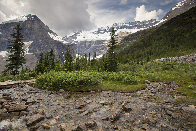 Plain of the six glaciers