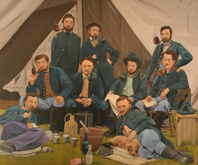 the pipe smokers company of the civil war