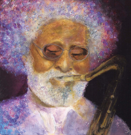Saxefonist Sonny Rollins