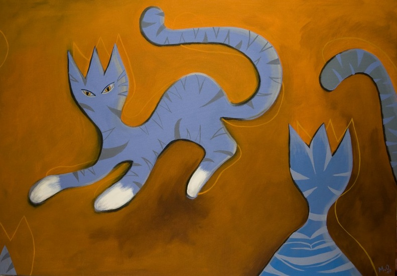 Blue King Cats