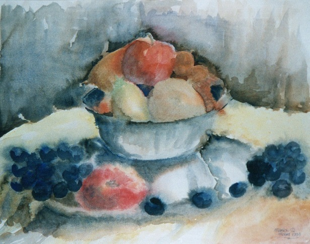 Aquarel fruitschaal MARQUA1112 €149