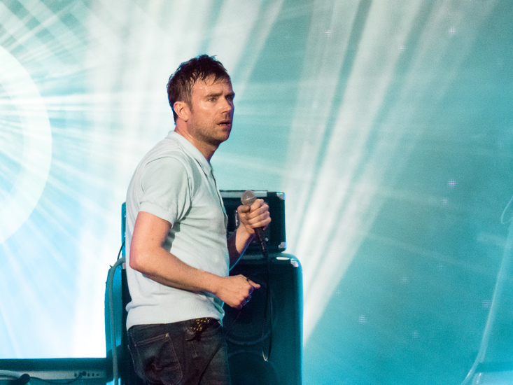 Blur at BST Festival 2015
