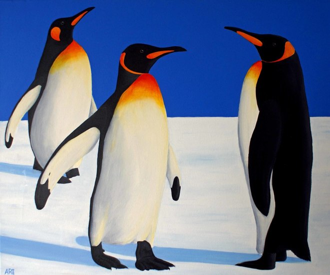 DRIE PINGUINS