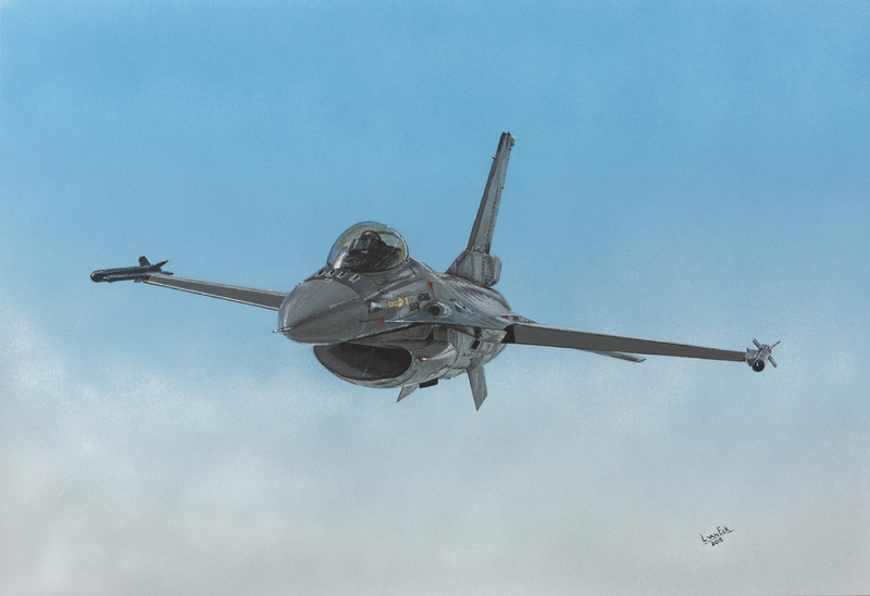 General Dynamics F16 (Bestelnr. KLU-80)