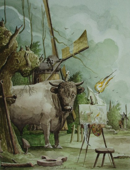 Sterrenbeeld Stier-Taurus.