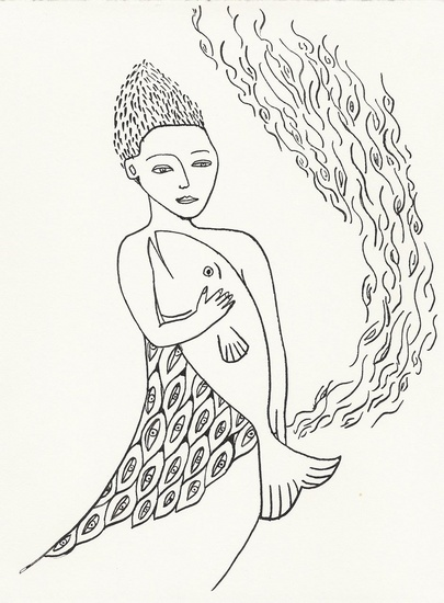 mermaid-woman